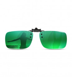Sun Protection Clip-on Mirror green 85%