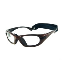 PROGEAR Eyeguard L shiny metallic brown