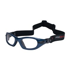 PROGEAR Eyeguard L shiny metallic blue, head band