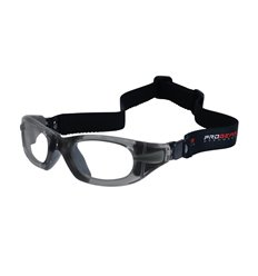 PROGEAR Eyeguard M grey transparent, head band