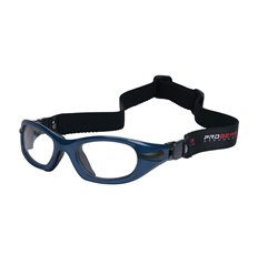 PROGEAR Eyeguard S shiny metallic blue, head band