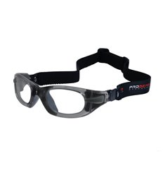 PROGEAR Eyeguard S grey transparent, head band