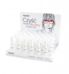 Hayne Lens Cleaner 100 pcs bulk packed set with display