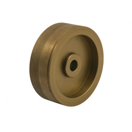 Grinding Wheel, fine and rough, with groove