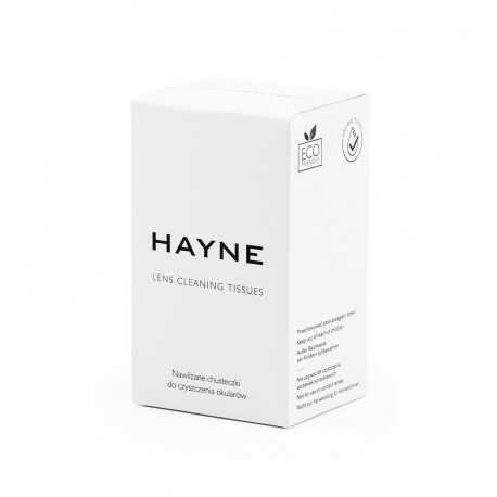 HAYNE Pre-Moistened Lens Cleaning Tissues